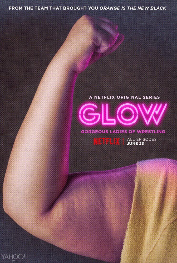 Britney Young play Carmen Wade in 'Glow' (Photo: Netflix)