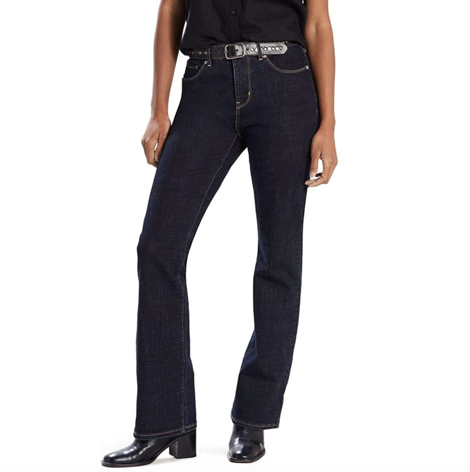Confidence, in jeans form — and nearly half off. (Photo: Amazon)
