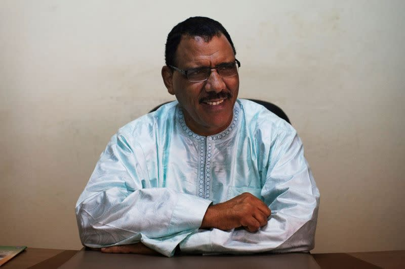FILE PHOTO: Niger's Mohamed Bazoum pictured in Sept 14, 2013.