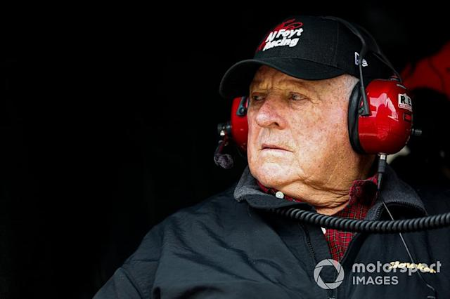 """The man, the myth, the legend – Mr. A.J. Foyt <span class=""""copyright"""">Barry Cantrell / NKP / Motorsport Images</span>"""