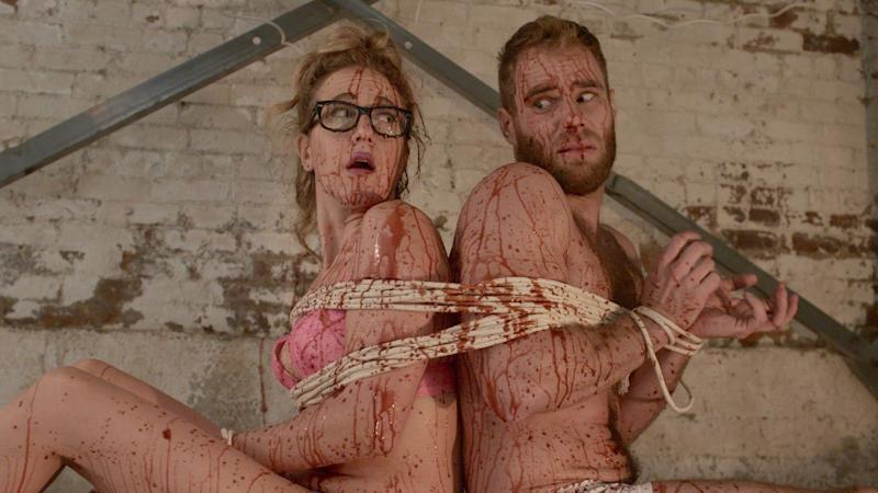"""""""New York Is Dead"""" reunites Jenn Harris and Matthew Wilkas, who starred in 2012's queer cult comedy, """"Gayby."""""""