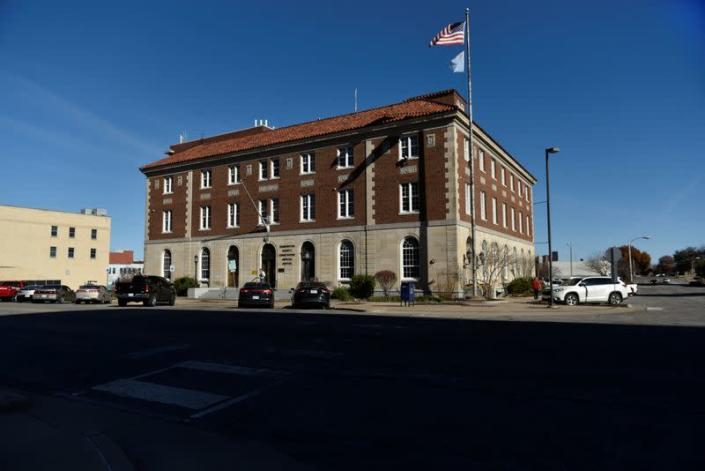 The Washington County Courthouse Judicial Center where Judge Curtis DeLapp sat on the bench is seen in Bartlesville