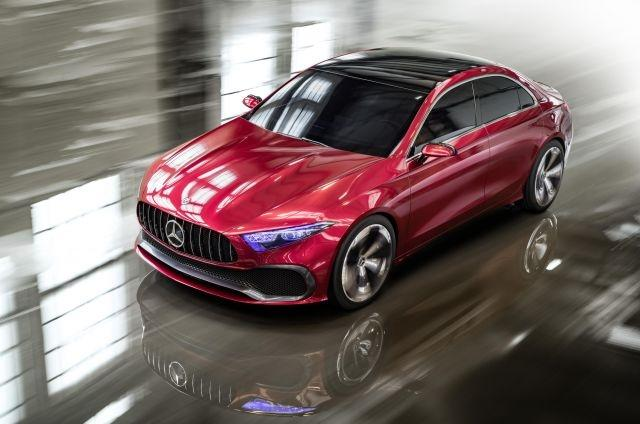 Mercedes A-Class, AMG GT sedans shown to United States  dealers