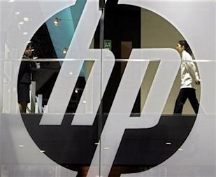 Hewlett-Packard Sign: Credit Reuters