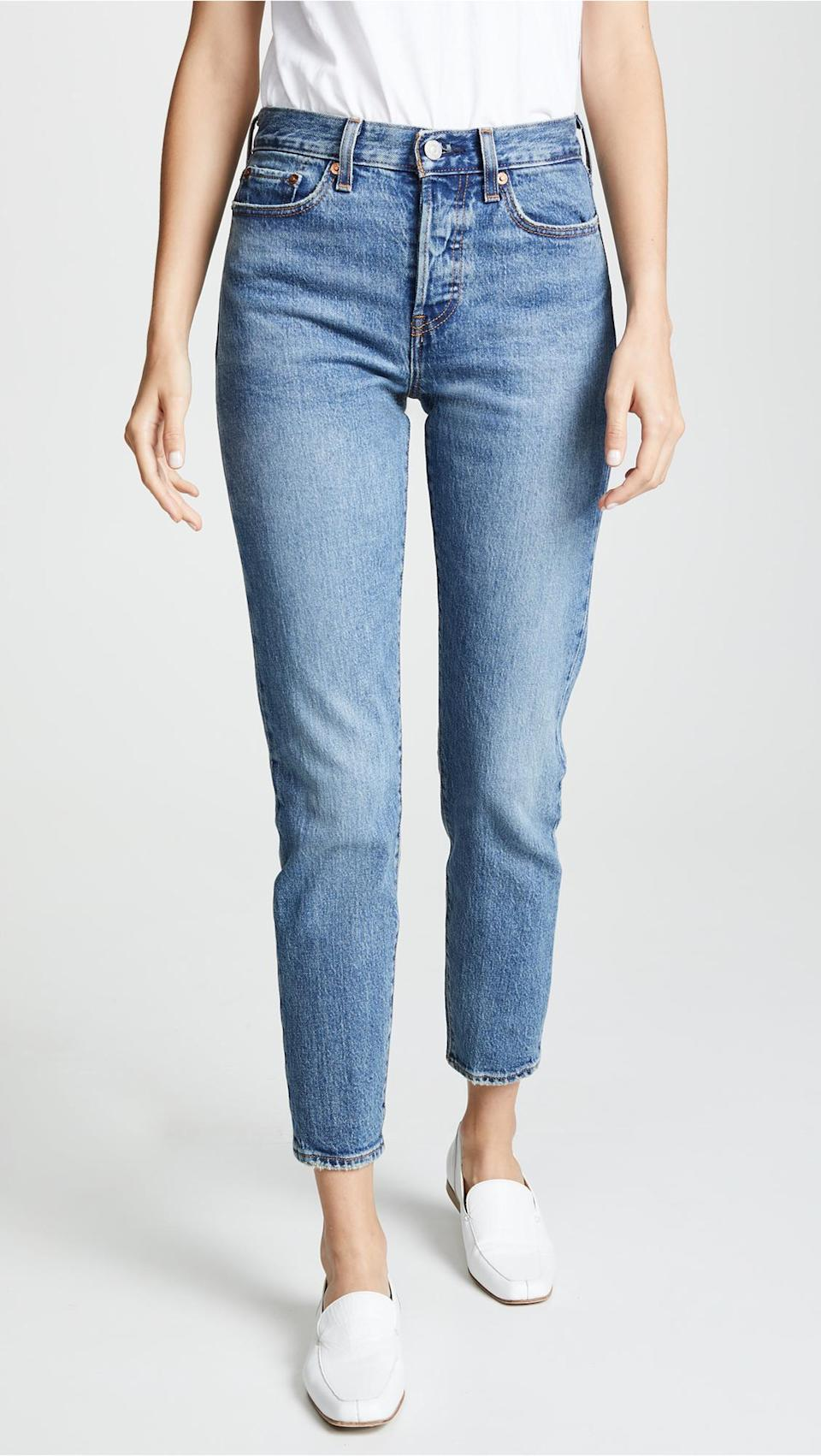 Levi's Wedgie Icon Jeans.