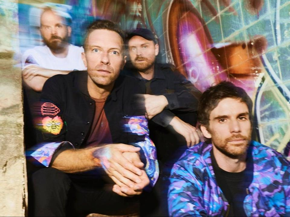 Coldplay  (James Marcus Haney)