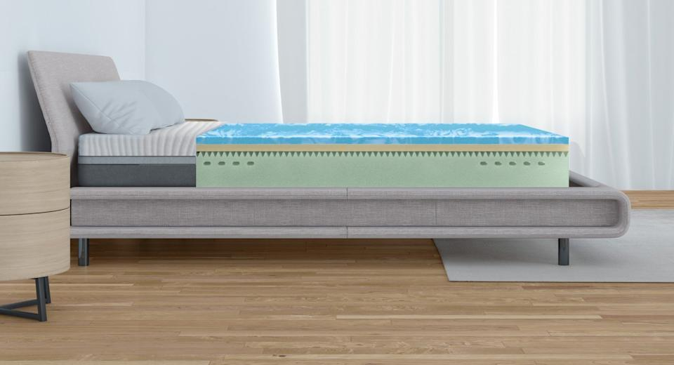 Three layers provide comfort and support for the Emma Mattress.