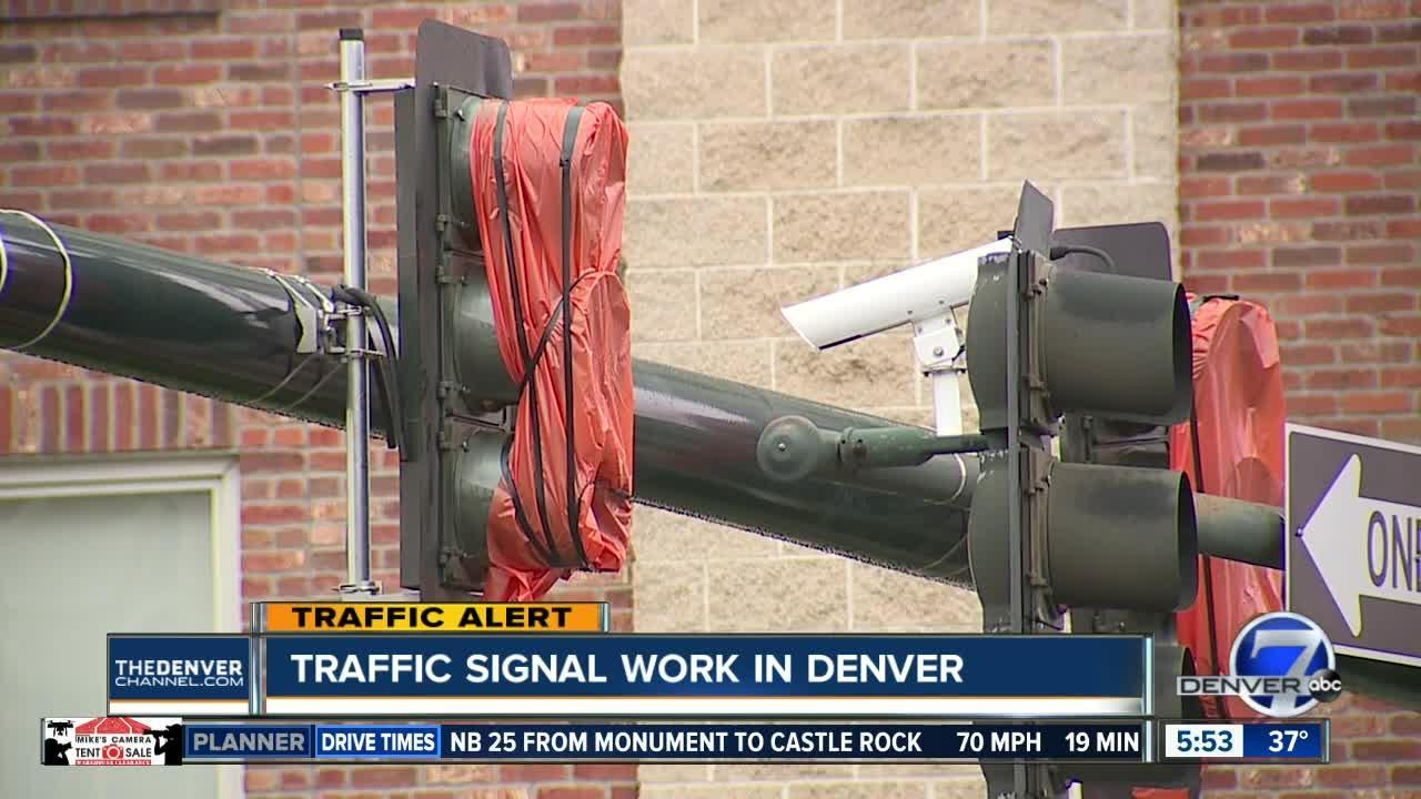 Denver replacing traffic signals at 40 intersections
