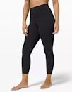 """There's a reason why Lululemon's Align pants have a cult-like following: They're buttery soft, weightless, and never lose shape. The Align comes in three lengths, but the 25-inch inseam nails the elusive sweet spot between a capri and a full-length legging. The site says this style is perfect for yoga, but going through its 4,500 five-star reviews, customers seem to do everything in them. $98, Lululemon. <a href=""""https://shop.lululemon.com/p/women-pants/Align-Pant-2/_/prod2020012?color=0001"""" rel=""""nofollow noopener"""" target=""""_blank"""" data-ylk=""""slk:Get it now!"""" class=""""link rapid-noclick-resp"""">Get it now!</a>"""
