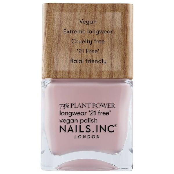 """<p>""""I've been getting gel manicures every two weeks - like clockwork - for as long as I can remember. But when COVID-19 hit and the salons closed, I had to break out my OG nail polishes and try to <a class=""""link rapid-noclick-resp"""" href=""""https://www.popsugar.com/DIY"""" rel=""""nofollow noopener"""" target=""""_blank"""" data-ylk=""""slk:DIY"""">DIY</a>. Spoiler alert: It looked like a child's art project gone wrong. </p> <p>The polish was way outside the lines and smudged nearly every nail in an instant. But my whole manicure game changed when I got a hold of the <a href=""""https://www.popsugar.com/buy/Nails-Inc-Plant-Power-Nail-Polish-583619?p_name=Nails%20Inc.%20Plant%20Power%20Nail%20Polish&retailer=sephora.com&pid=583619&price=10&evar1=bella%3Aus&evar9=47612601&evar98=https%3A%2F%2Fwww.popsugar.com%2Fbeauty%2Fphoto-gallery%2F47612601%2Fimage%2F47612603%2FNails-Inc-Plant-Power-Nail-Polish&list1=beauty%20products%2Cbeauty%20shopping&prop13=mobile&pdata=1"""" class=""""link rapid-noclick-resp"""" rel=""""nofollow noopener"""" target=""""_blank"""" data-ylk=""""slk:Nails Inc. Plant Power Nail Polish"""">Nails Inc. Plant Power Nail Polish</a> ($10). The plant-based, vegan and cruelty free nail polish has a wooden, square lid that makes polishing my nails crazy easy. I have so much control of.the brush and, with a little top coat, it dries so quickly. Plus, the colors are perfect for summer. Trust me, if I can do it, anyone can."""" - Samantha Holender, assistant editor, makeup.com &amp; skincare.com</p>"""