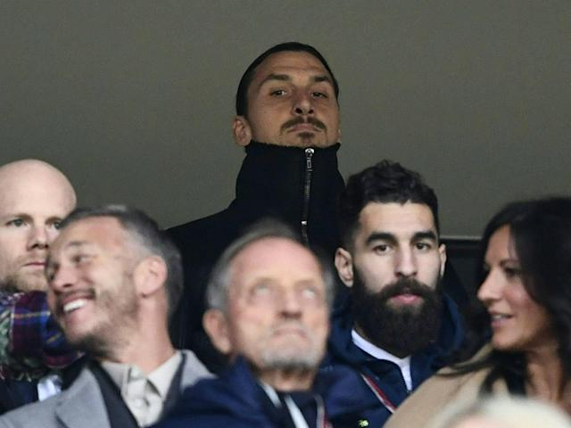 Sweden were watched by Zlatan Ibrahimovic on Monday night