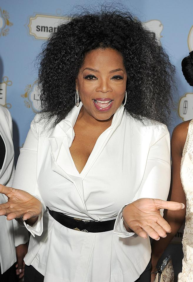 BEVERLY HILLS, CA - FEBRUARY 21:  Oprah Winfrey arrives at the 6th Annual ESSENCE Black Women In Hollywood Luncheon at Beverly Hills Hotel on February 21, 2013 in Beverly Hills, California.  (Photo by Steve Granitz/WireImage)