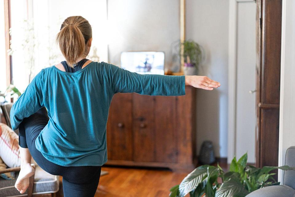 """<p>Salomone recommends leaving enough space in one part of your house for activity. Maybe it's an empty spot in your living room with enough space for a yoga mat, or maybe it's an open basement so your kids can move around. Staying active is key for a healthy immune system. </p><p>_________________________________________________________<em><br><br><a href=""""https://subscribe.hearstmags.com/subscribe/womansday/253396?source=wdy_edit_article"""" rel=""""nofollow noopener"""" target=""""_blank"""" data-ylk=""""slk:Subscribe to Woman's Day"""" class=""""link rapid-noclick-resp"""">Subscribe to Woman's Day</a> today and get <strong>73% off your first 12 issues</strong>. And while you're at it, <a href=""""https://subscribe.hearstmags.com/circulation/shared/email/newsletters/signup/wdy-su01.html"""" rel=""""nofollow noopener"""" target=""""_blank"""" data-ylk=""""slk:sign up for our FREE newsletter"""" class=""""link rapid-noclick-resp"""">sign up for our FREE newsletter</a> for even more of the Woman's Day content you want</em><br></p>"""