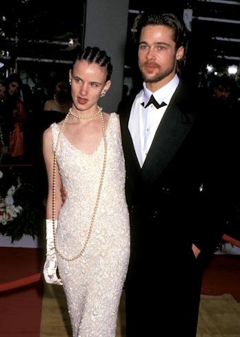 Lewis and Pitt at the 1992 Oscars