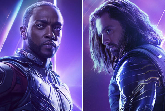 Falcon and The Winter Soldier get a villainous message at Comic-Con