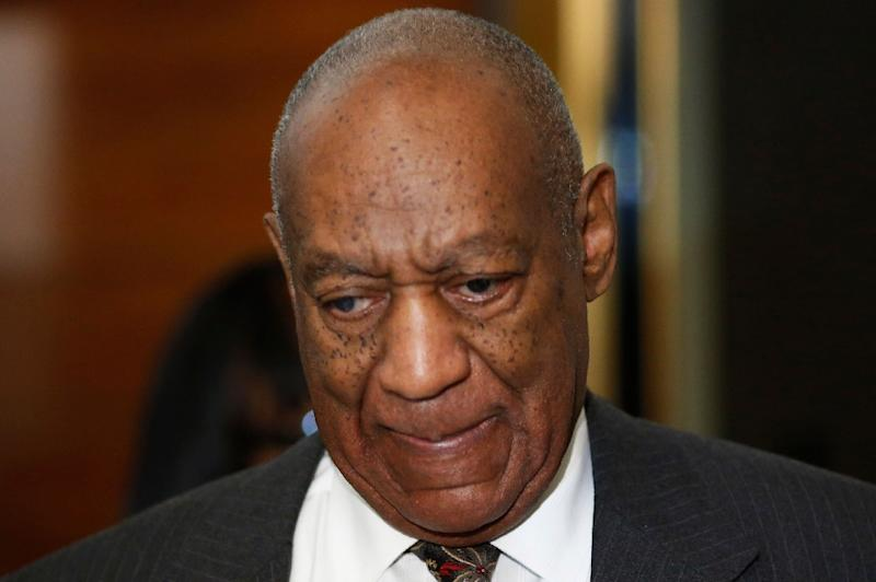 Comedian Bill Cosby, is seen at the Montgomery County Courthouse on May 24, 2016, in Norristown, Pennsylvania