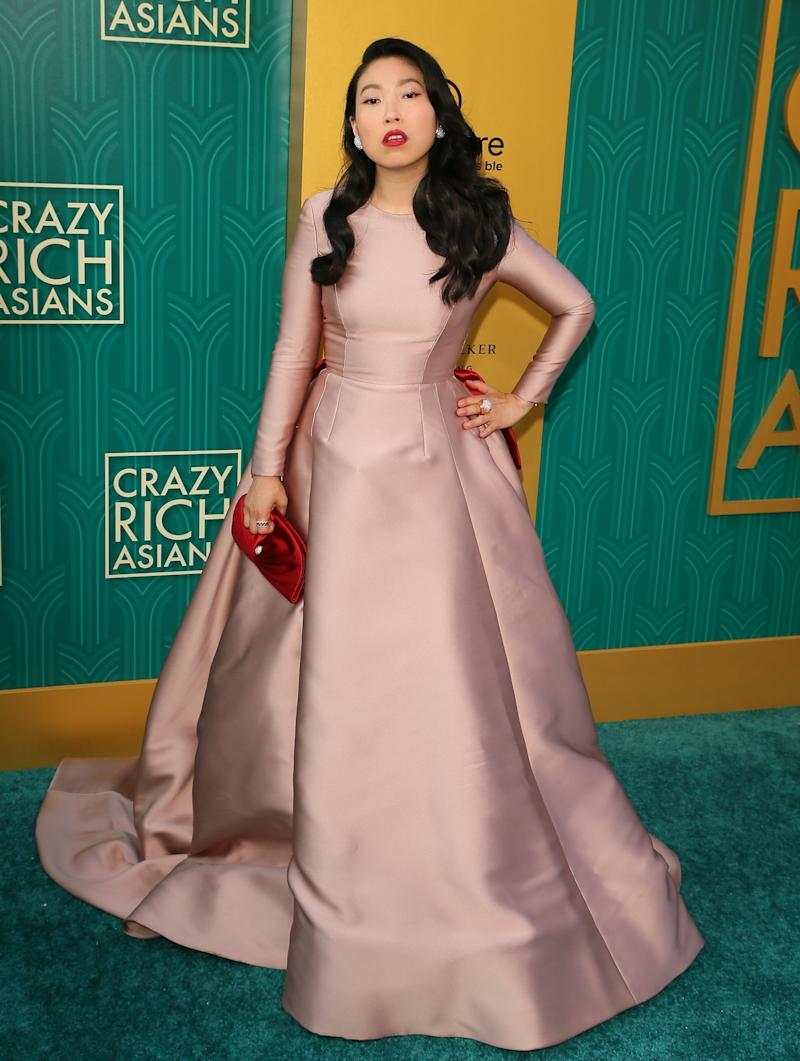 Actress and rapper Awkwafina (JEAN-BAPTISTE LACROIX via Getty Images)
