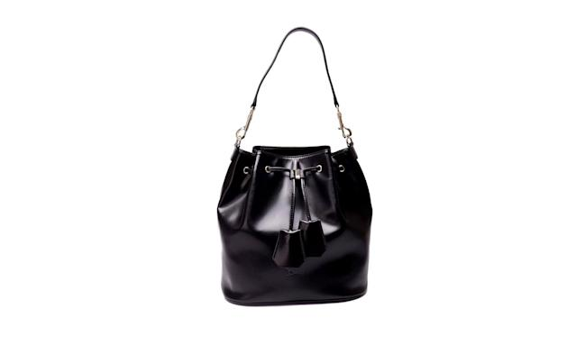 "<p>Bucket bag, $169, <a href=""https://doshi.shop/collections/handbags-and-wallets/products/doshi-bucket-bag-vegan"" rel=""nofollow noopener"" target=""_blank"" data-ylk=""slk:doshi.shop"" class=""link rapid-noclick-resp"">doshi.shop</a> </p>"