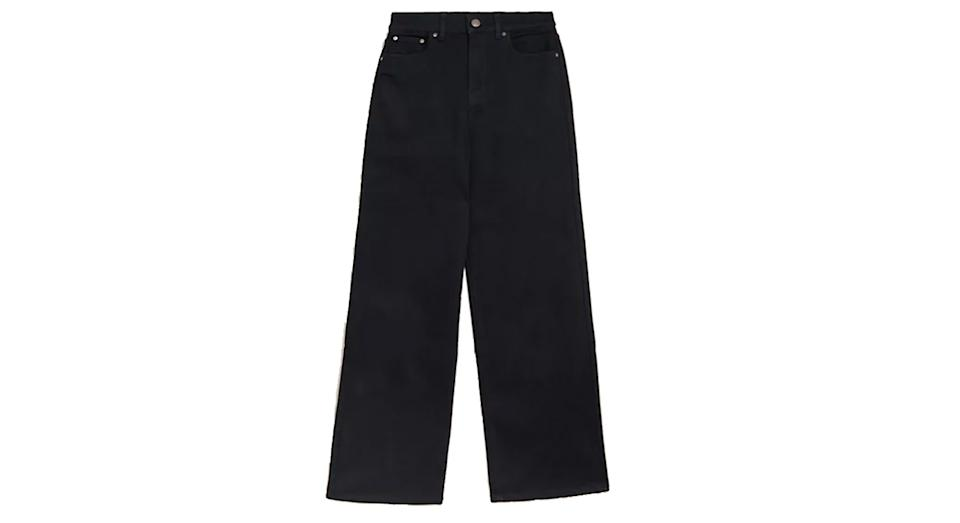 Luxury High Waisted Wide Leg Jeans