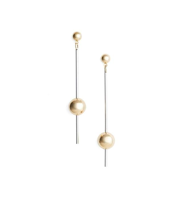 "<p>Argento stick ball earrings, $30, <a href=""http://shop.nordstrom.com/s/argento-vivo-stick-ball-earrings/4633763?origin=category-personalizedsort&fashioncolor=SILVER%20%2F%20GOLD"" rel=""nofollow noopener"" target=""_blank"" data-ylk=""slk:nordstrom.com"" class=""link rapid-noclick-resp"">nordstrom.com</a> </p>"