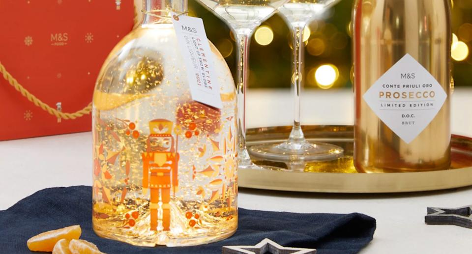 M&S' Snow Globe Gin is back for 2021. (Marks & Spencer)