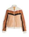 "The ideal uniform for sipping a PSL and pretending it's a warm embrace from a human. $395, Shopbop. <a href=""https://www.shopbop.com/striped-letterman-zip-jacket-mother/vp/v=1/1593915233.htm"" rel=""nofollow noopener"" target=""_blank"" data-ylk=""slk:Get it now!"" class=""link rapid-noclick-resp"">Get it now!</a>"