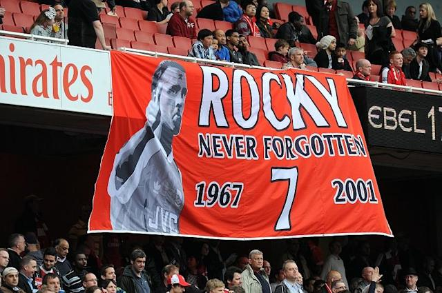 On this day in 2001, the former England midfielder passed away after losing his battle with non-Hodgkins lymphoma. Sixteen years on, Jon Spurling explains why Rocky remains such an iconic figure for Gunners everywhere