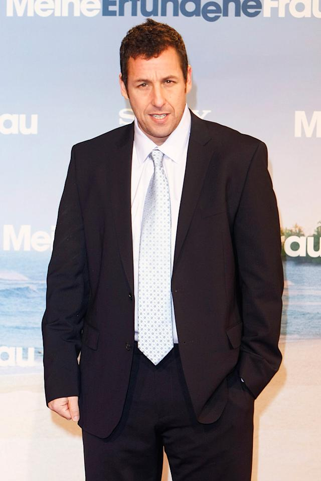 "Adam Sandler turns 45. Florian G Seefried/<a href=""http://www.wireimage.com"" target=""new"">WireImage.com</a> - February 21, 2011"