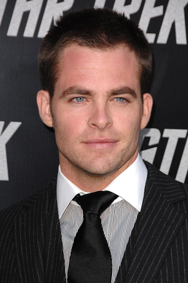 """<a href=""""http://movies.yahoo.com/movie/contributor/1808520306"""">Chris Pine</a> at the Los Angeles premiere of <a href=""""http://movies.yahoo.com/movie/1809752801/info"""">Star Trek</a> - 04/30/2009"""