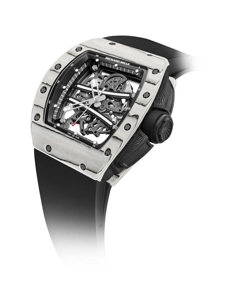 "<p>Richard Mille RM 61-01 Ultimate Edition (release date tba)<br></p><p>A companion watch to the tourbillon RM 59-01, which Richard Mille created for Jamaican sprinter Yohan Blake, the RM 61-o1 has been part of the Richard Mille line-up since 2012. The new 'Ultimate Edition' is limited to 150 pieces and will be the final version released in the series. As per all Richard Mille releases, the specs have more in common with a high-performance sports car than something you'd typically find on someone's wrist. The case is crafted in carbon and quartz, it's impact-tested to more than 5,000 Gs and features a skeletonised calibre made of PVD-treated grade 5 titanium. Ultimate indeed.</p><p>£POA; <a href=""https://www.richardmille.com"" rel=""nofollow noopener"" target=""_blank"" data-ylk=""slk:richardmille.com"" class=""link rapid-noclick-resp"">richardmille.com</a></p>"