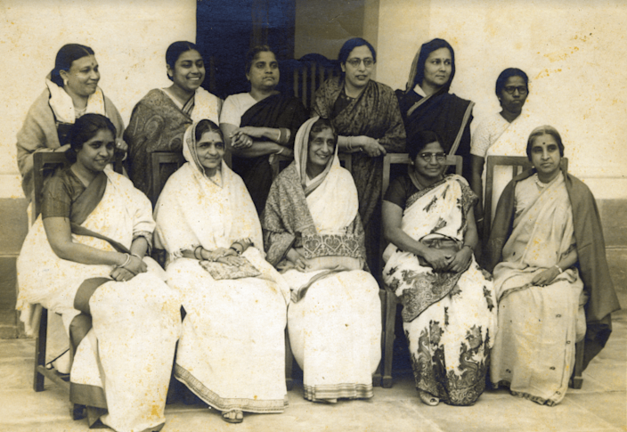 There are 15 women who were a part of making the constitution of India. (Image: CWDS archieve)