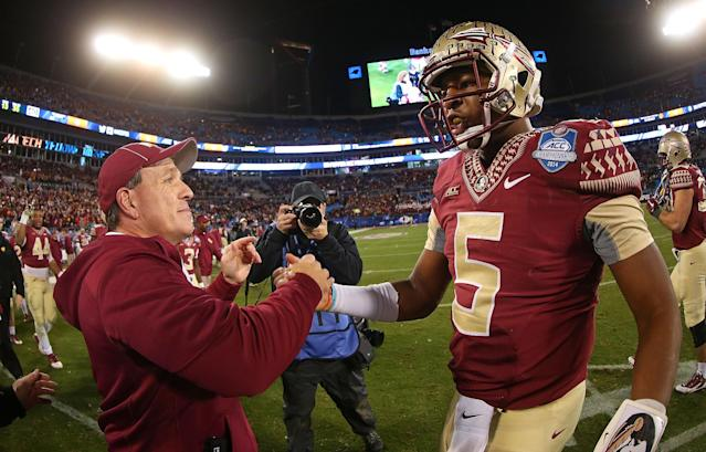 Jimbo Fisher says Jameis Winston was the victim of 'character assassination'