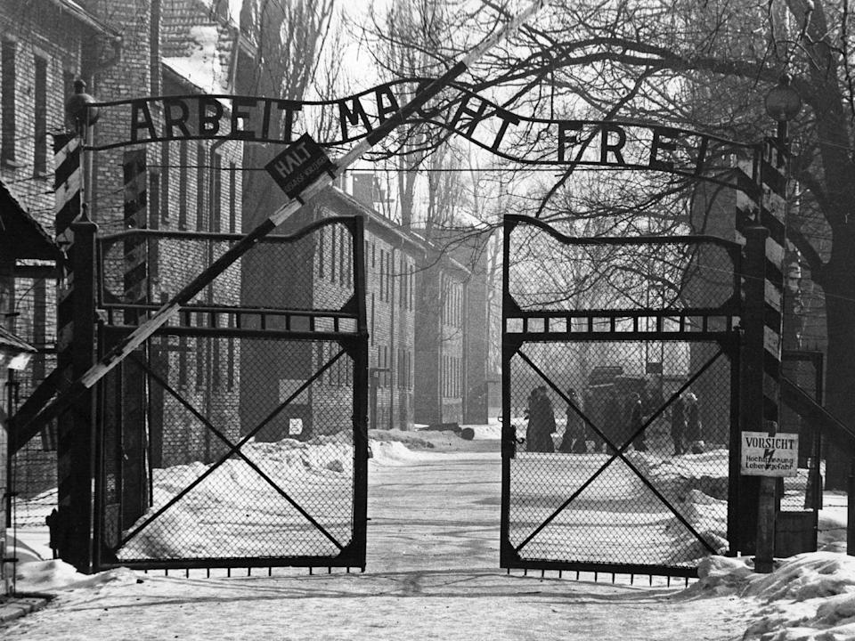More than a million people lost their lives at Auschwitz (Getty)