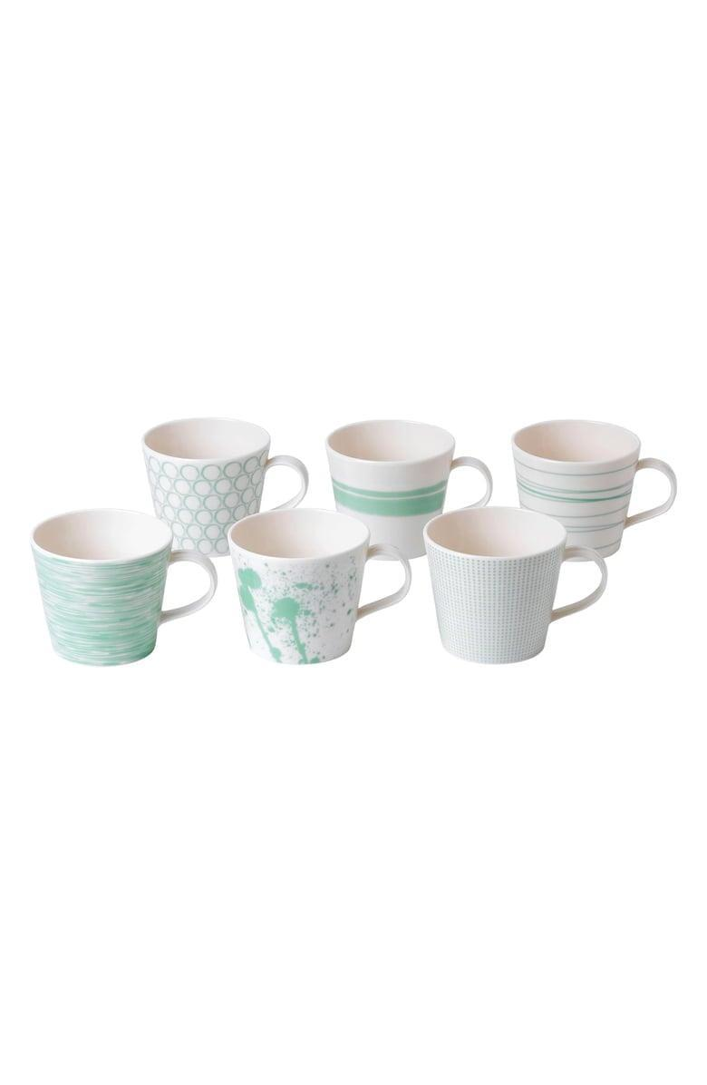 <p><span>Royal Doulton Pacific Mint Dots Set of 6 Mugs</span> ($44, originally $55)</p>