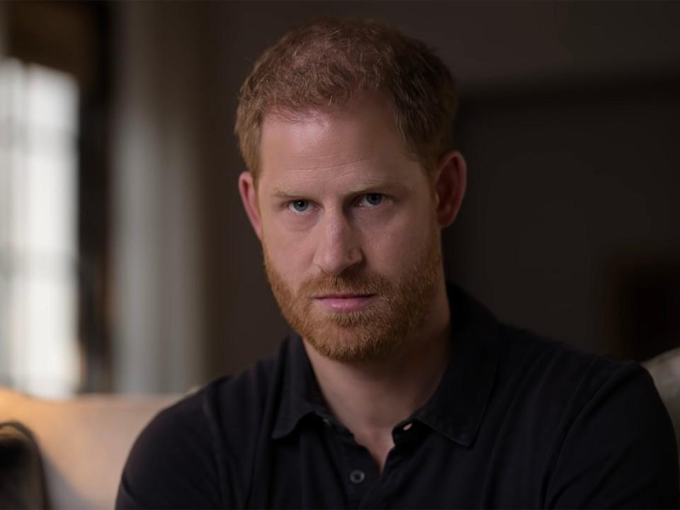 Prince Harry in Apple TV+'s The Me You Can't See (Apple TV+)