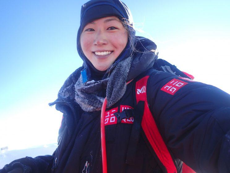 At 26, Marin Minamiya is the youngest Japanese person to climb Everest.