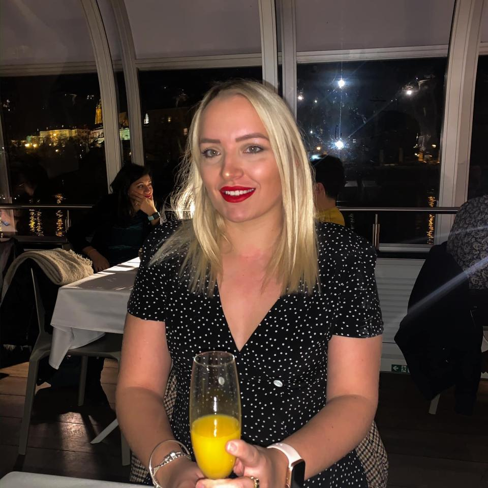 Ashleigh Charlesworth was rushed to Broomfield Hospital in Chelmsford, Essex, and was on a ventilator for two days. (SWNS)