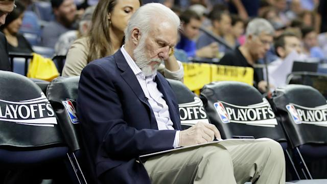 A lacklustre start to the third quarter prompted swift action from San Antonio Spurs coach Gregg Popovich, who sat his starters.