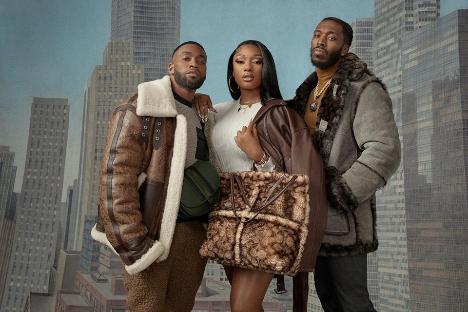 COACH INTRODUCES COACH X SCHOTT NYC COLLECTION With Campaign Starring Megan Thee Stallion