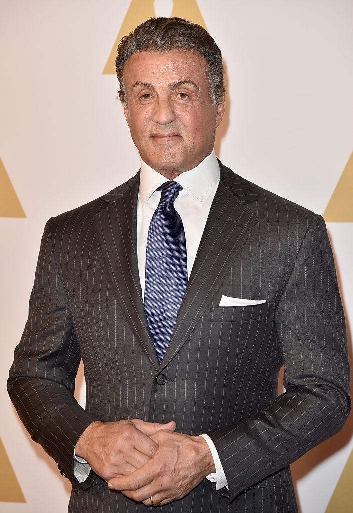 Sylvester Stallone attends the 88th Annual Academy Awards nominee luncheon on Feb. 8, 2016 in L.A. (Photo: Kevin Winter/Getty Images)