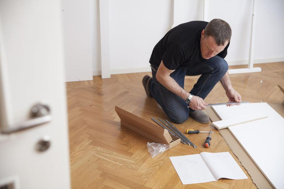 <p>Once you put the furniture together, there's no need for the manual. You'll never use them again, so toss any directions or manuals you have lying around.</p>