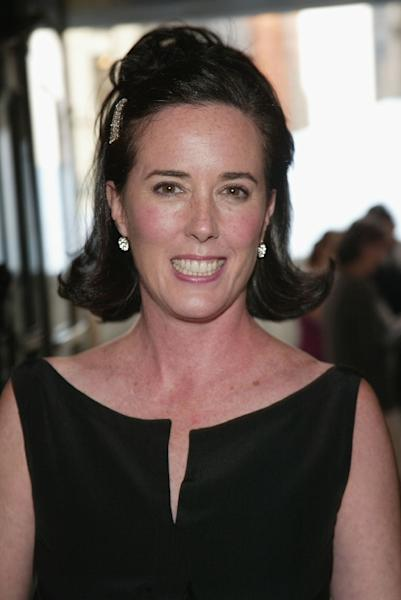 The use of bright colors and prints by Kate Spade, pictured in 2004, proved a hit with career women (AFP Photo/Evan Agostini)