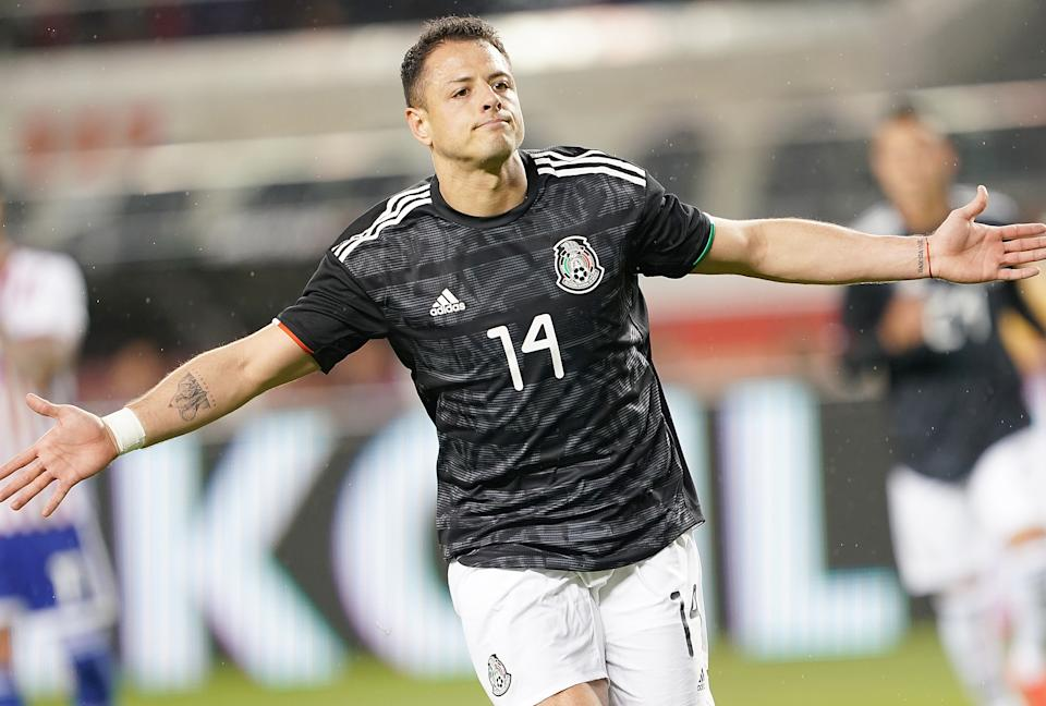 People asked how the Galaxy would replace Zlatan Ibrahimovic. How's Javier Hernandez for answer? (Photo by Thearon W. Henderson/Getty Images)