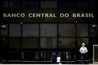 FILE PHOTO: FILE PHOTO: The central bank headquarters building is seen in Brasilia