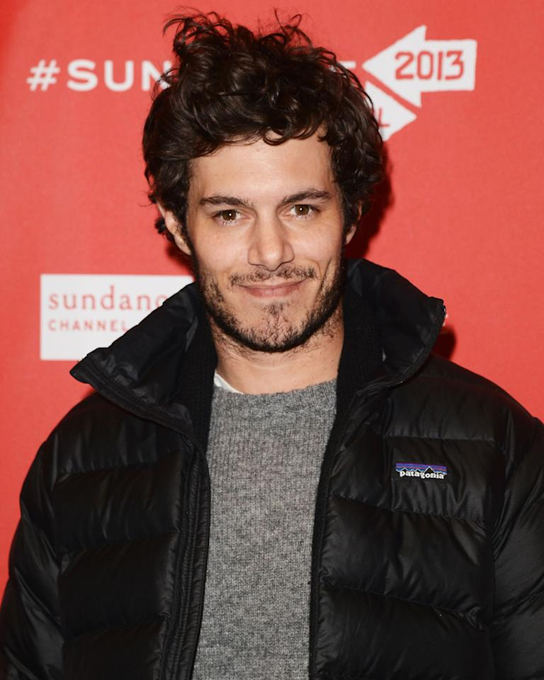 """PARK CITY, UT - JANUARY 22:  Actor Adam Brody attends the """"Lovelace"""" premiere at Eccles Center Theatre during the 2013 Sundance Film Festival on January 22, 2013 in Park City, Utah.  (Photo by Jason Merritt/Getty Images)"""
