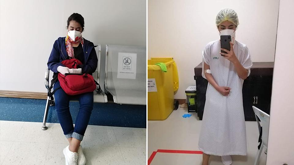 Jaina Ramos has started preparation for her kidney transplant after the operation got put on hold due to the coronavirus pandemic.