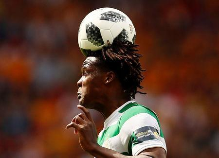 FILE PHOTO: Soccer Football - Scottish Cup Final - Celtic vs Motherwell - Hampden Park, Glasgow, Britain - May 19, 2018 Celtic's Dedryck Boyata in action Action Images via Reuters/Jason Cairnduff