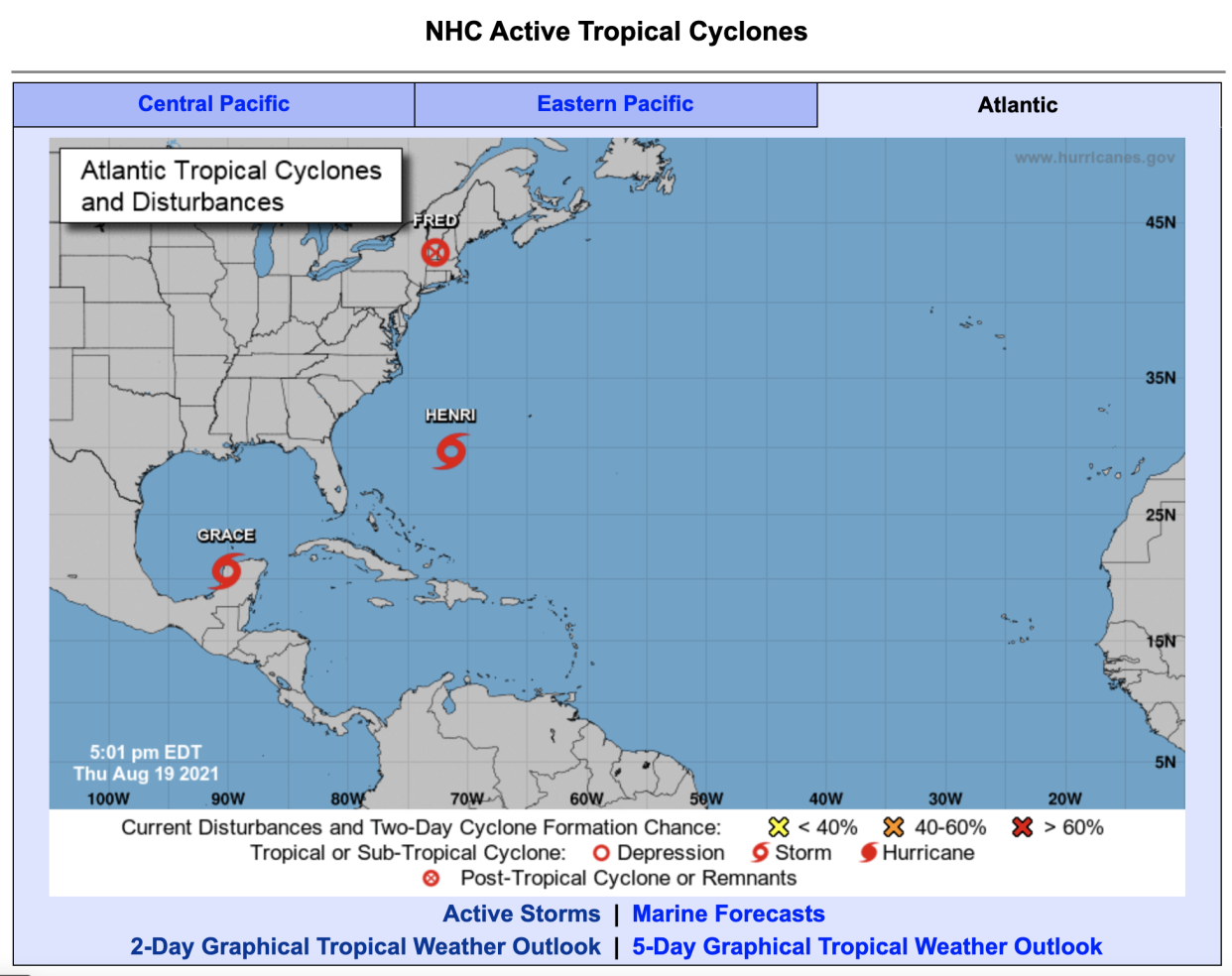 Two Atlantic storms cause damage as a third makes its way to the U.S.