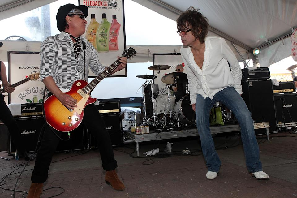 The New York Dolls at Feedback 2009. (Photo: Roger Kisby/Getty Images)