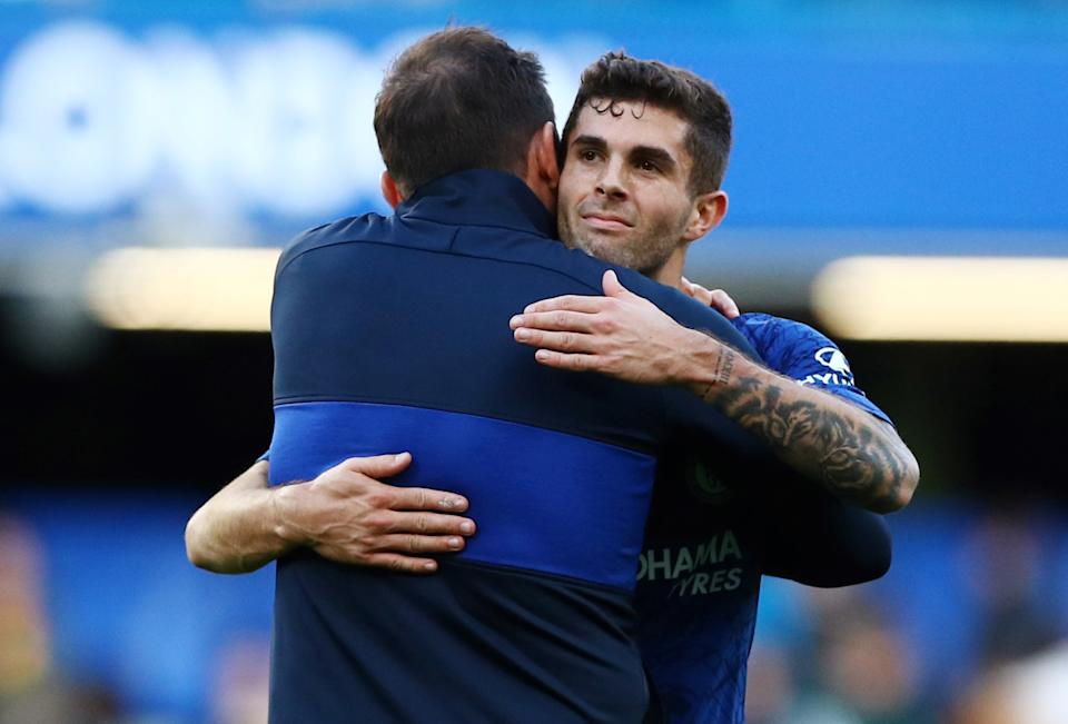 When did Christian Pulisic, Frank Lampard and Chelsea become so darn likable? (REUTERS/Hannah McKay)